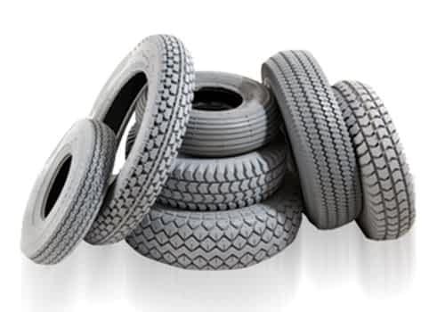 Aperçu des pneus et chambres à air pour scooter électrique de loisir, médical, senior et personne handicapée ou à mobilité réduite