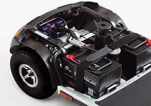 Aperçu des batteries et des chargeurs pour scooter électrique médical, senior et personne handicapée ou à mobilité réduite Indépendance Royale
