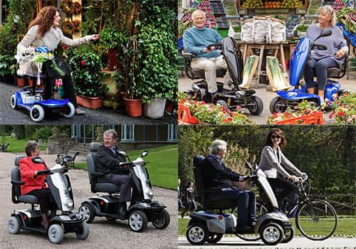 Aperçu des modèles dans la catégorie scooter senior, pour personne handicapée et à mobilité réduite