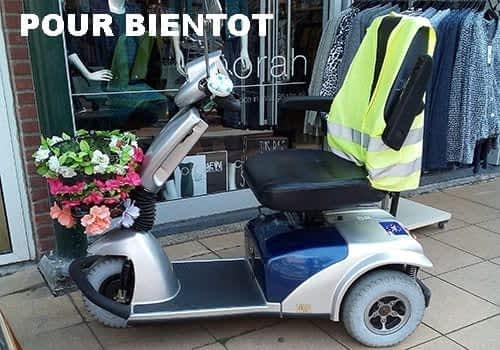 Aperçu des scooters électriques senior, pour personne handicapée et à mobilité réduite dans la catégorie Compact à 3 roues