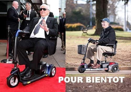 Aperçu des modèles de scooter électrique senior, pour personne handicapée et à mobilité réduite dans la catégorie Démontables à 3 roues