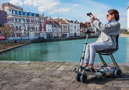 Aperçu des modèles de scooter électrique senior, pour personne handicapée et à mobilité réduite de la catégorie Pliables de 3 à 5 roues