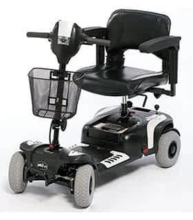 Scooter électrique pour handicapé et mobilité réduite Drive DeVilbiss Prism Sport en noir