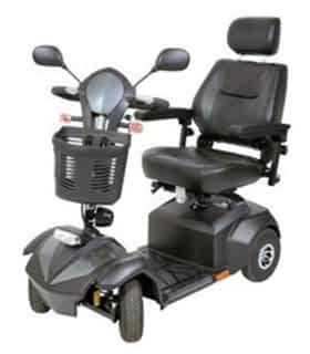 Scooter électrique handicapé Drive Devilbiss Bogey en bleu