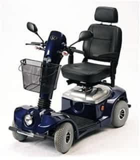 Scooter électrique handicapé Drive Devilbiss Dupont Eagle en bleu