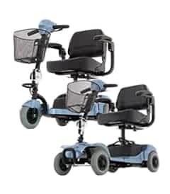 Pièces détachées et de rechange pour le scooter de mobilité électrique Freerider Cat 3 et Cat 4