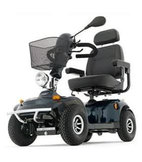 Scooter électrique de mobilité réduite Freerier Tiger 4 en bleu