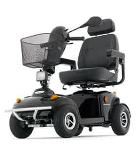 Scooter électrique de mobilité réduite Freerider Panther 4S en noir