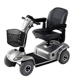Scooter électrique handicapé et de mobilité réduite Invacare Leo en bleu