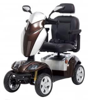 Scooter électrique de mobilité réduite Kymco Agility en bronze