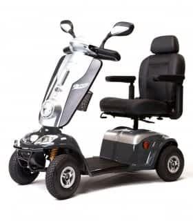 Scooter électrique de mobilité réduite Kymco Midi XLS en gris
