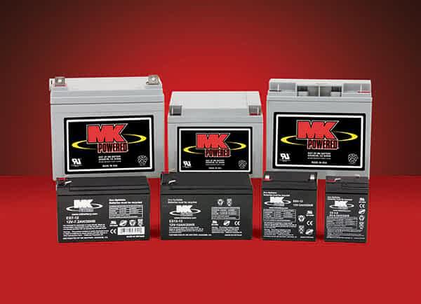 La gamme de batterie AGM et GEL Spéciales Traction de MK Battery disponible sur le site Kingmobilité
