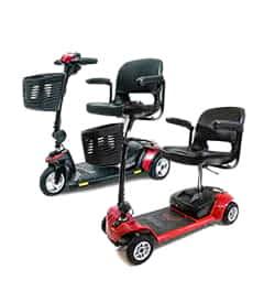 Pièces détachées et de rechange pour le scooter électrique Practicomfort Beaufort 3, Beaufort 4 et Pride GoGo Ultra X