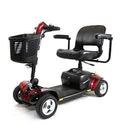 Pièces détachées et de rechange pour le scooter senior Practicomfort Mobilae Beaufort 6 et Pride GoGo Elite Traveller Plus
