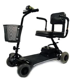 Scooter électrique handicapé et de mobilité réduite Practicomfort F7 en noir