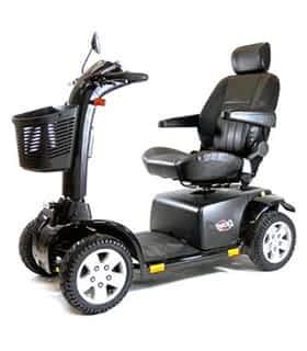 Scooter électrique de mobilité réduite et handicapé Practicomfort Cyclone 22 en noir