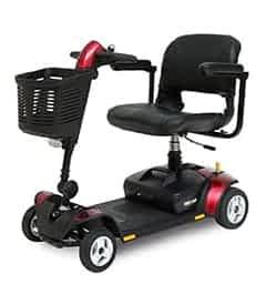 Pièces détachées et de rechange pour le scooter de mobilité électrique Pride GoGo Elite Traveller 4 roues
