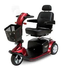 Pièces détachées et de rechange pour le scooter de mobilité électrique Pride Victory DX 3 roues