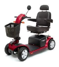 Pièces détachées et de rechange pour le scooter électrique Pride Victory DX 4 roues