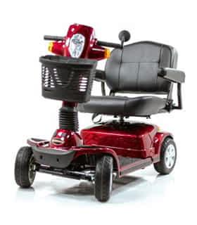 Scooter électrique handicapé Pride Maxima en rouge