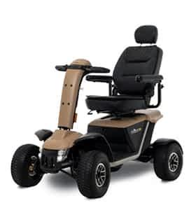 Scooter électrique de mobilité réduite et handicapé Pride Ranger en beige