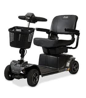 Scooter électrique de mobilité réduite Pride Revo en noir