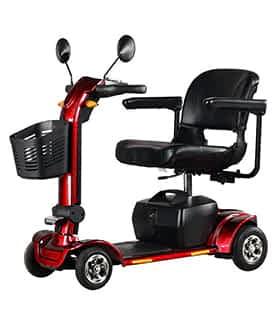 Scooter électrique handicapé Prima Vital Rider 1 en rouge