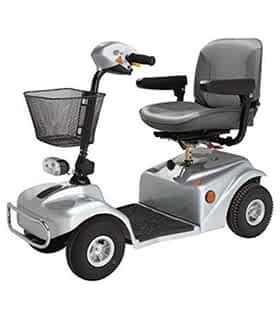 Scooter électrique de mobilité réduite Rascal 388 en gris