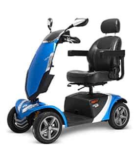 Scooter électrique de mobilité réduite Rascal Vecta Sport en gris