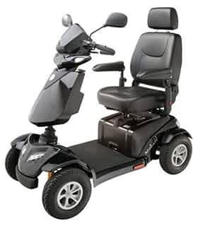 Scooter électrique handicapé Rascal Ventura en noir