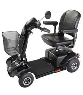 Scooter électrique handicapé Rascal Vantage en noir