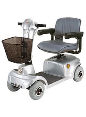 Scooter électrique pour handicapé et mobilité réduite Robé Médical Ego Persona HS 360 en gris