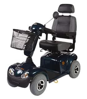 Scooter électrique de mobilité réduite et handicapé Robé Médical Ego Persona HS 889 en vert