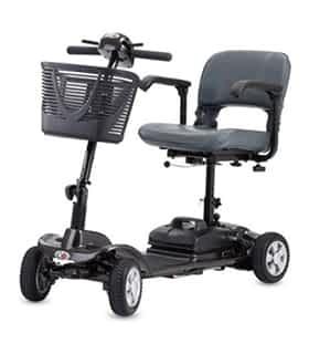 Scooter électrique handicapé et de mobilité réduite Robe Médical Flip en noir