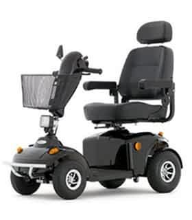 Scooter électrique de mobilité réduite Robé Médical Panther 4S en noir
