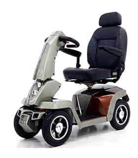Scooter électrique de mobilité réduite Shoprider 9AS en gris
