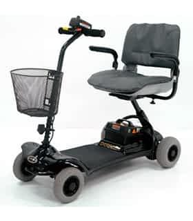 Scooter électrique handicapé et de mobilité réduite Shoprider SL7-4 en noir