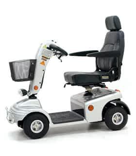 Scooter électrique de mobilité réduite et handicapé Shoprider 888NRSB en gris