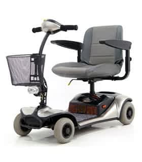 Scooter électrique handicapé et de mobilité réduite Shoprider GK8 en gris