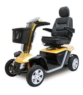 Scooter électrique de mobilité réduite et handicapé Sovrana Albatros en jaune