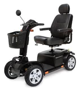 Scooter électrique de mobilité réduite et handicapé Dolce Vita Grand XL en noir