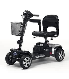 Scooter électrique pour handicapé et mobilité réduite Vermeiren Venus 4 Sport en gris