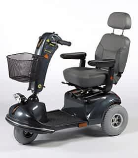 Scooter électrique de mobilité réduite Vermeiren Jupiter 3 en gris
