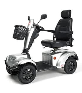 Scooter électrique de mobilité réduite et handicapé Vermeiren Carpo 2 SE en gris