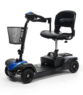 Scooter électrique handicapé et de mobilité réduite Vermeiren Venus 4 en bleu