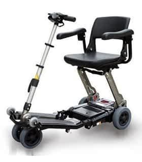 Scooter électrique pliable Vermeiren Luggie en noir