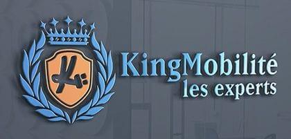 Qui est KingMobilite - Logo en 3D