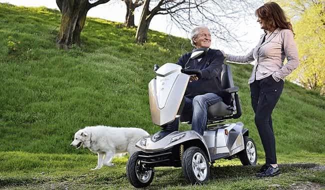 Le scooter électrique pour senior et personne handicapée Kymco Maxer est l'alternative au Kymco Maxi XLS
