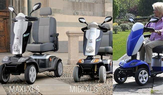Le scooter électrique médical Kymco Agility et le scooter handicapé Kymco Maxi XLS sont les alternatives au Kymco Midi XLS
