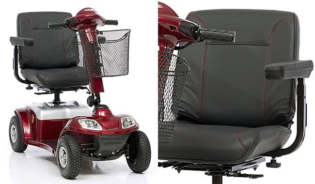 Siège Confort de scooter de mobilité réduite Kymco Super 6 et 8